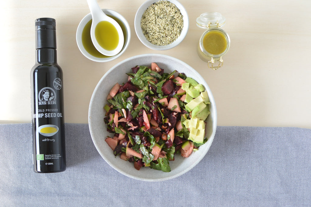 Hemp Seed Oil Vinaigrette Sensi Foods