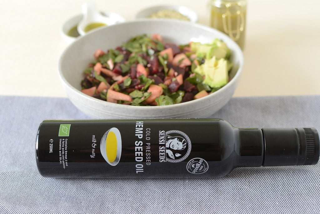 Beetroot Hemp Oil Salad