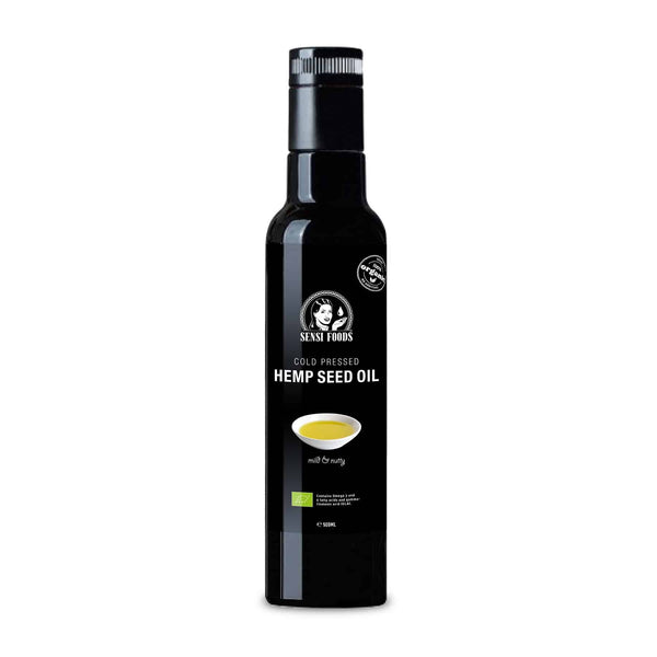 Cold-Pressed Hemp Seed Oil