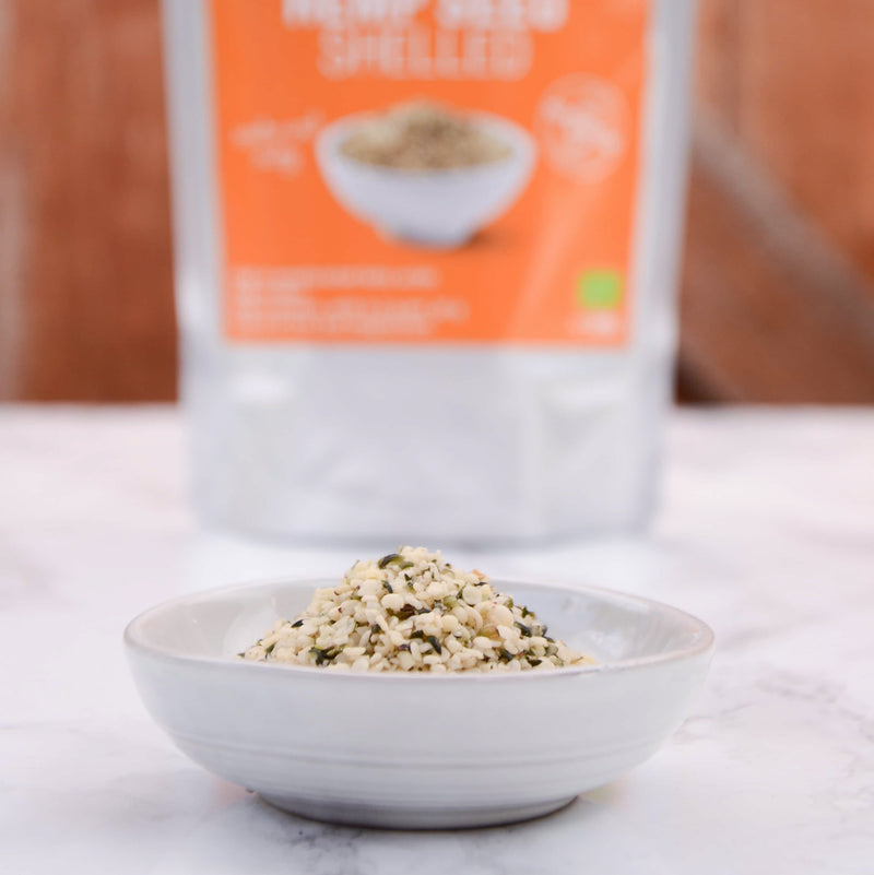 Organic Hemp Seeds Shelled