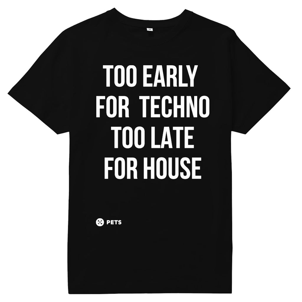 Too early for Techno Too late for House