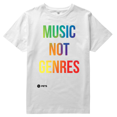 Music Not Genres Tee