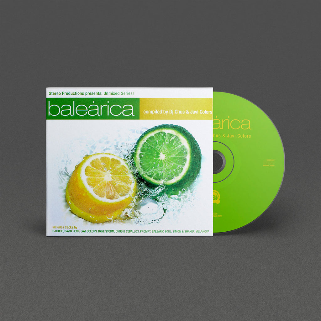 SPCD009 Balearica - Compiled by DJ Chus & Javi Colors