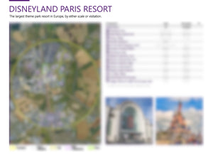 Attraction Resort Planning & Sizing Detail