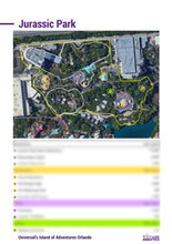 Load image into Gallery viewer, Sizing Benchmark Report - Universal's Island of Adventures