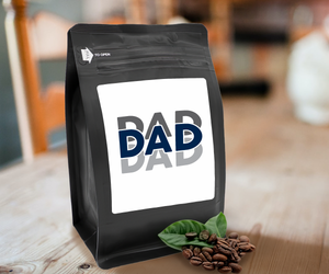 Dad – Coffee Gift – Gifts for Coffee Lovers with Funny, Inspirational Quotes – Best Gifts for Coffee Lovers for Christmas, Birthdays, Anniversaries – Coffee Gift Ideas – 12oz Medium-Dark Roast Coffee Beans