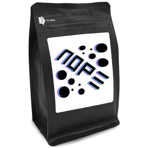 Nope – for Coffee Lovers with Funny, Inspirational Quotes – Best for Christmas, Birthdays, Anniversaries – Coffee Ideas – 12oz Medium-Dark Roast Coffee Beans