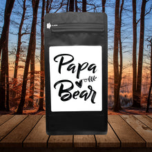 Load image into Gallery viewer, Papa Bear – Coffee Gift – Gifts for Coffee Lovers with Funny, Inspirational Quotes – Best Gifts for Coffee Lovers for Christmas, Birthdays, Anniversaries – Coffee Gift Ideas – 12oz Medium-Dark Roast Coffee Beans
