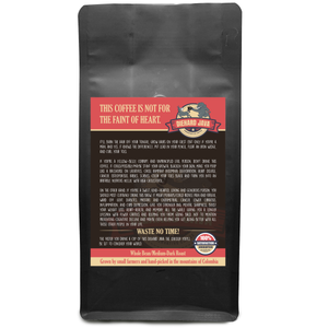 Dear Great Grandfather, I'd Walk Through Fire For You Well Not Fire That Would Be Dangerous But A Super Humid Room But Not Too Humid Because U Know My Hair – 12oz Medium-Dark Beans - DieHard Java Coffee Lovers Gifts with Funny or Inspirational Quotes