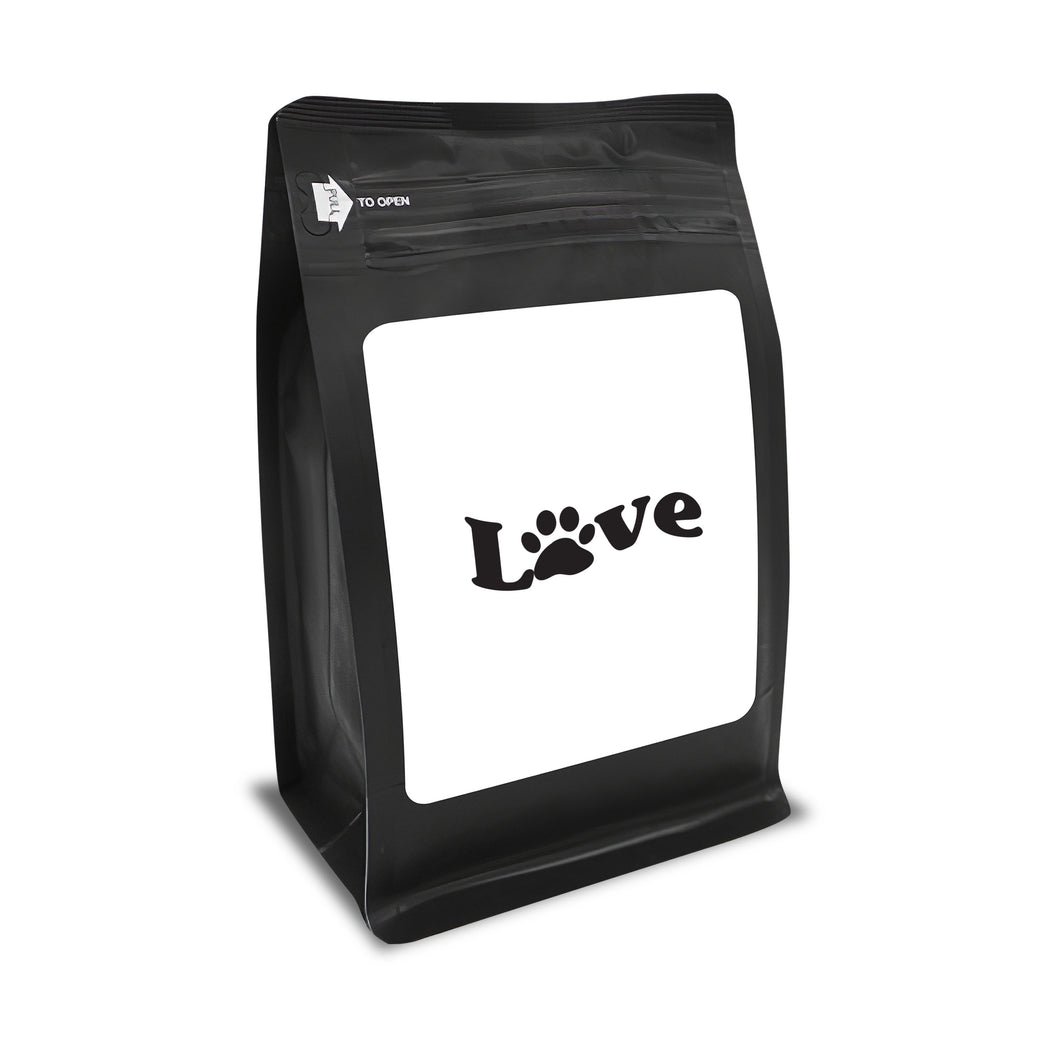 Love – Coffee Lovers Gifts with Funny, Inspirational Quotes – Best Ideas for Christmas, Birthdays, Anniversaries – 12oz Medium-Dark Beans