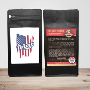 Trump – Coffee Gift – Gifts for Coffee Lovers with Funny, Inspirational Quotes – Best Gifts for Coffee Lovers for Christmas, Birthdays, Anniversaries – Coffee Gift Ideas – 12oz Medium-Dark Roast Coffee Beans