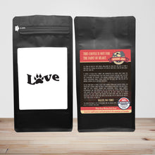 Load image into Gallery viewer, Love – Coffee Lovers Gifts with Funny, Inspirational Quotes – Best Ideas for Christmas, Birthdays, Anniversaries – 12oz Medium-Dark Beans