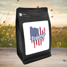 Load image into Gallery viewer, Trump – Coffee Gift – Gifts for Coffee Lovers with Funny, Inspirational Quotes – Best Gifts for Coffee Lovers for Christmas, Birthdays, Anniversaries – Coffee Gift Ideas – 12oz Medium-Dark Roast Coffee Beans