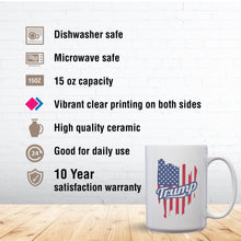 Load image into Gallery viewer, Trump – Mug by DieHard Java – Tea Mug 15oz – Ceramic Mug for Coffee, Tea, Hot Chocolate – Big Mug with Funny or Inspirational Captions – Top Quality Large Mug as Birthday, Christmas, Co-worker Gift