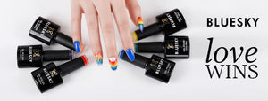 Brilliant Pride nails with our new Pride Collection