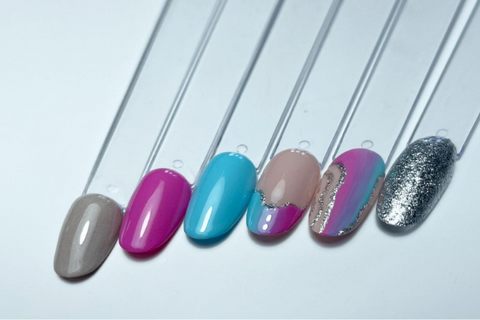 How To Use Metallic Sparkle Gel Paint