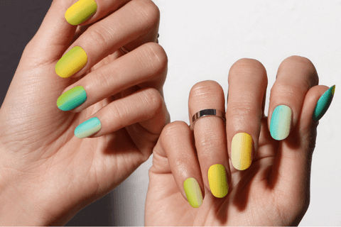 Spring manicure, Bluesky Spring Collection