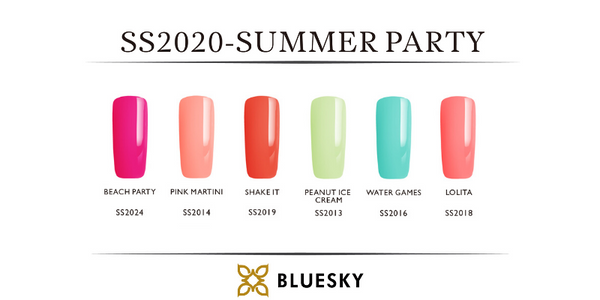 Summer Party Gel Polish Collection