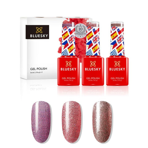 Bluesky 10 Year Anniversary - Set 3 - Gel Polish