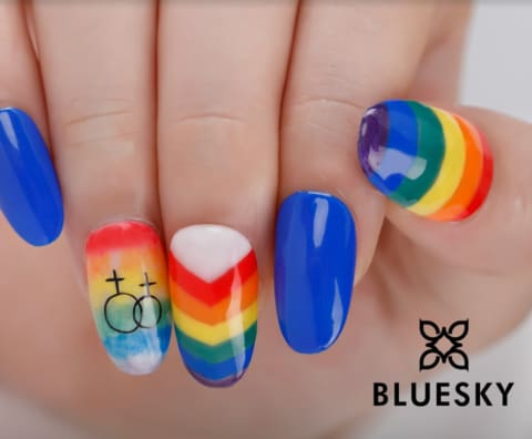 bluesky pride gel nail polish collection