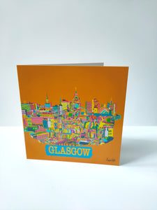 Busy glasgow card