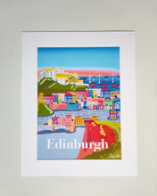 Load image into Gallery viewer, Edinburgh City print