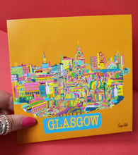 Load image into Gallery viewer, Busy glasgow card