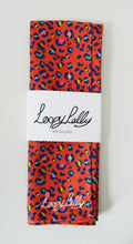 Load image into Gallery viewer, Leopard print tea towel