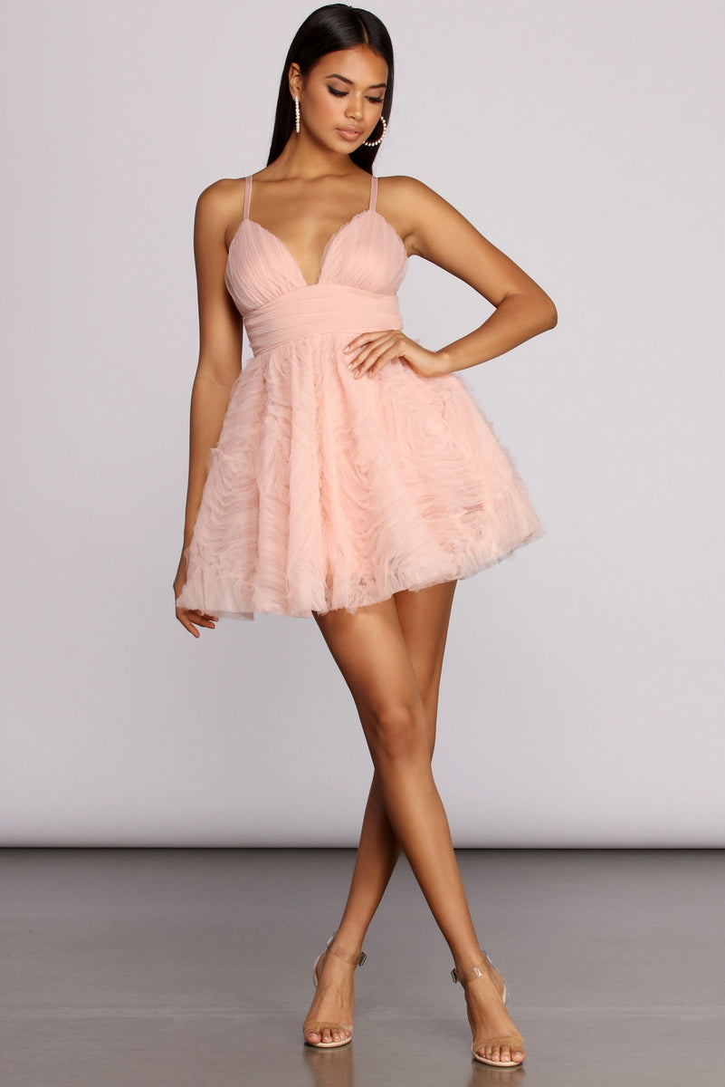Candy Darling Tulle Mini Dress by Windsor