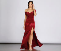 Short Sleeves Sleeves Sleeveless Princess Seams Waistline Plunging Neck Sweetheart Back Zipper Slit Velvet Floor Length Dress