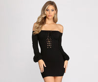 Plus Size Baby Short Knit Dress