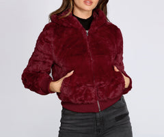 Faux Sure Your Favorite Bomber Jacket