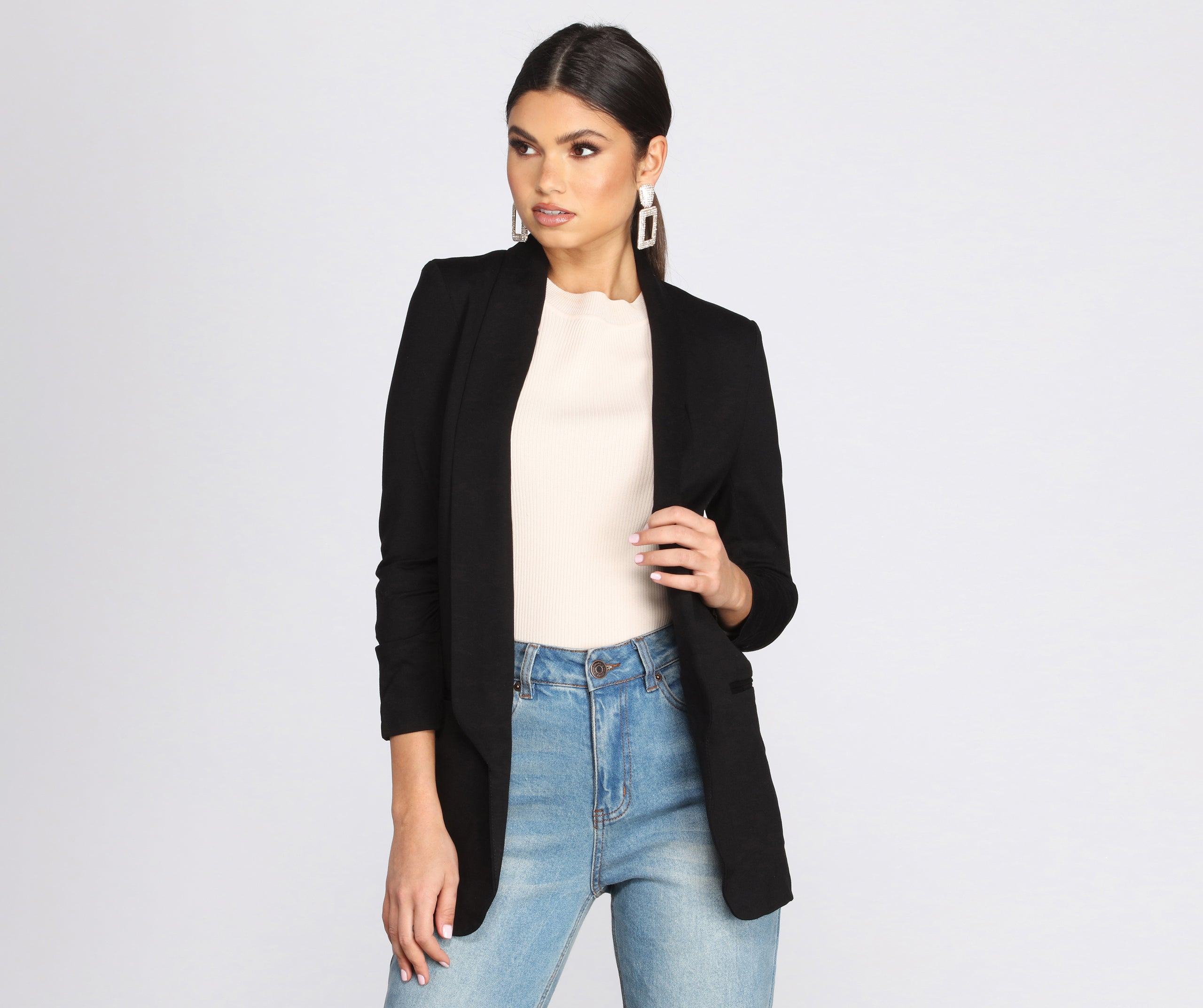 Set The Rules Boyfriend Blazer – Windsor