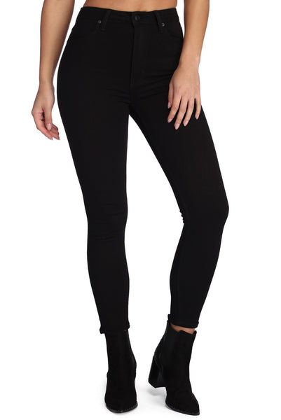 Essential High Rise Skinny Jeans
