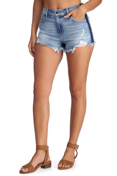 Fray It With Style Jean Shorts