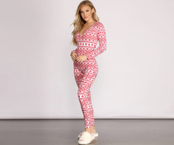 Tis' The Season Fair Isle Onesie