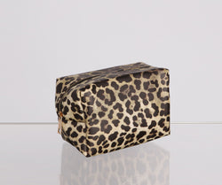 Stylish And Sassy Leopard Print Makeup Bag