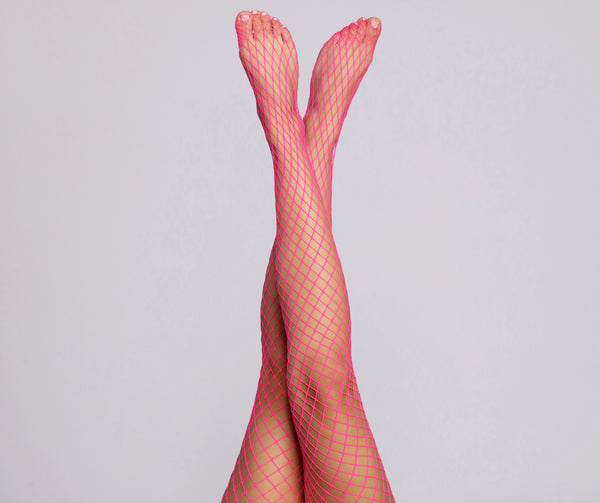 Electric Fishnet Tights