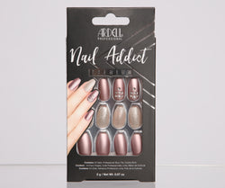 Ardell Nail Addict Pearl and Glitter Press On Nails