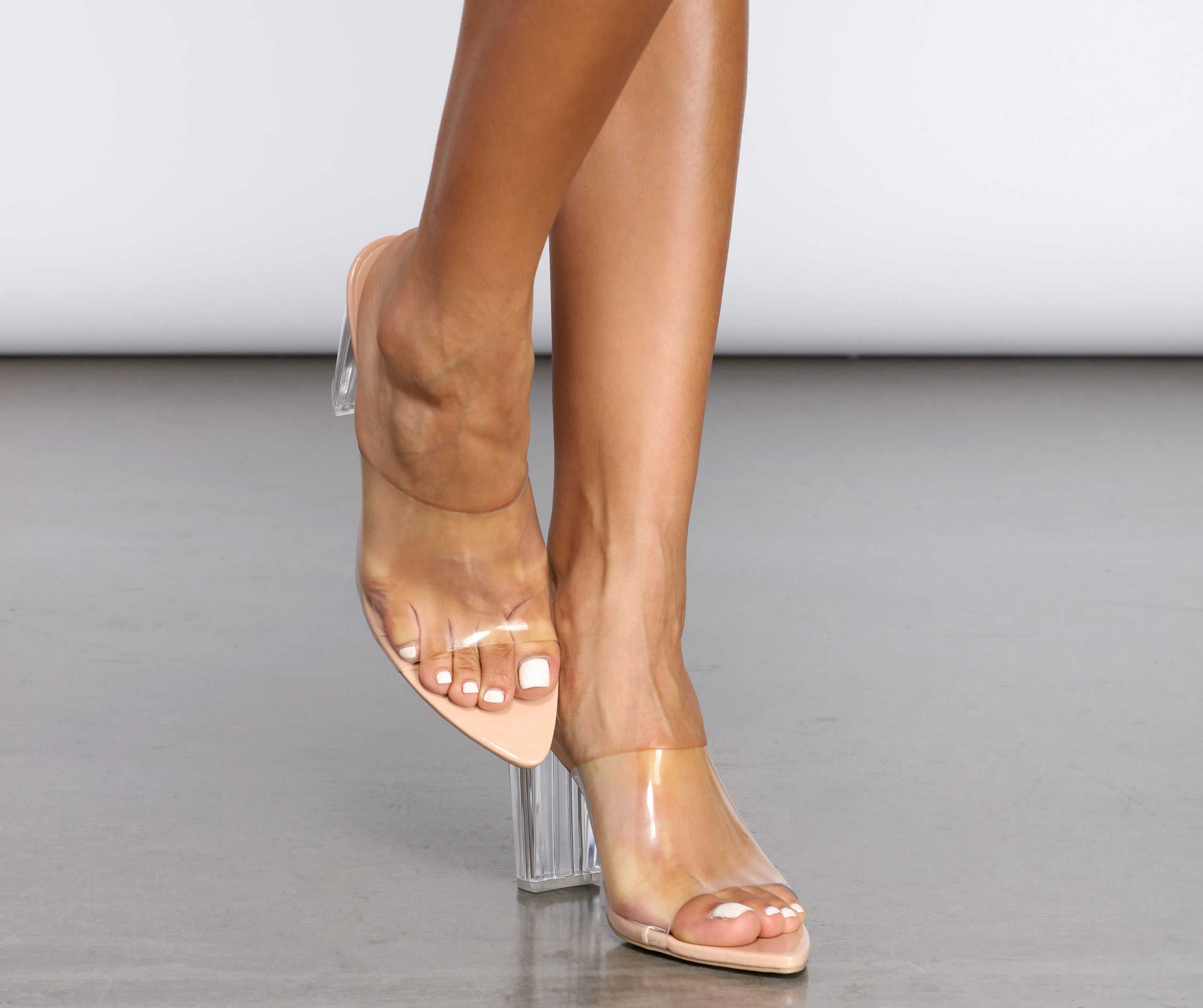 Sexy Chick Clear Mules – Windsor