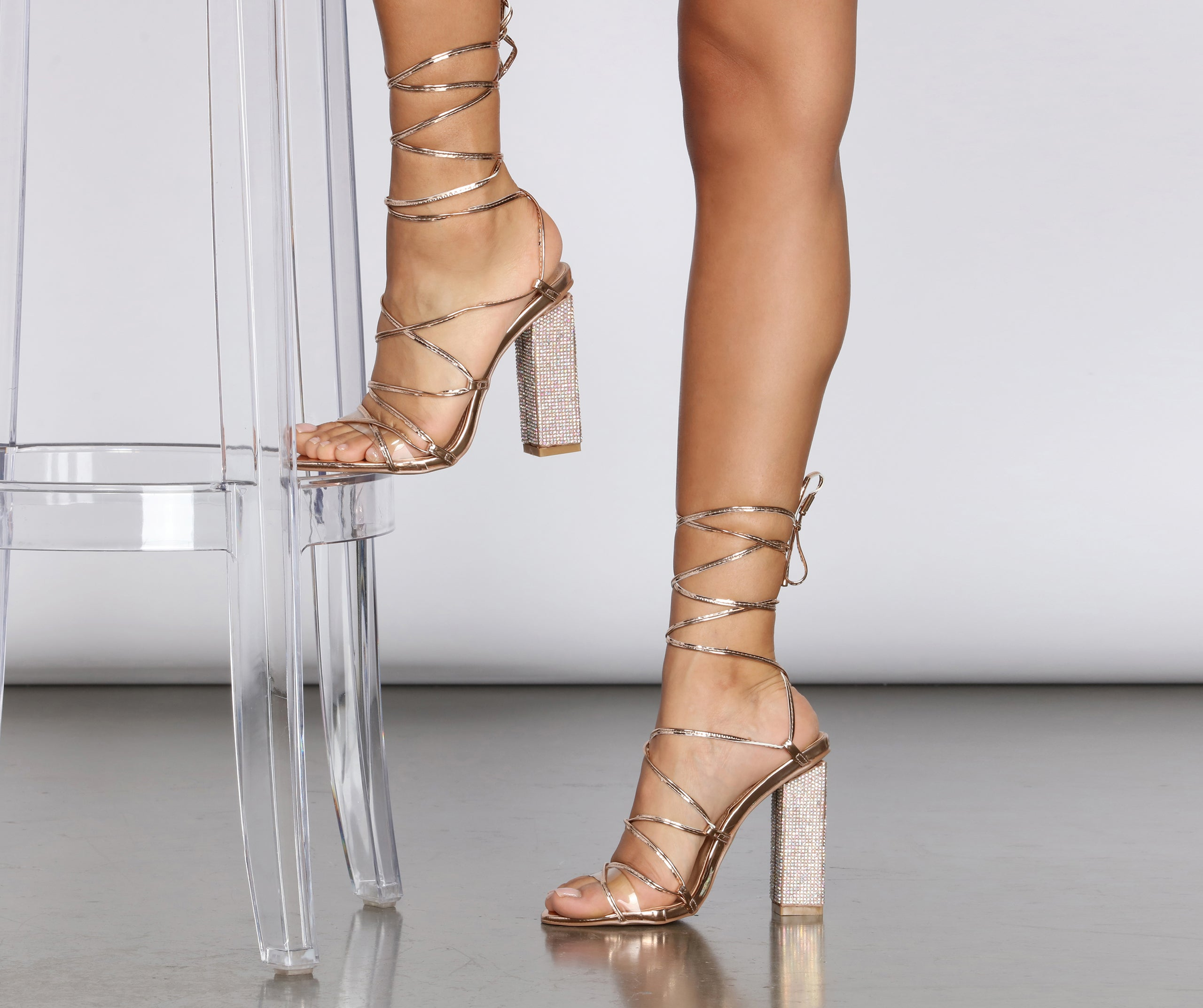 lace up heels cheap