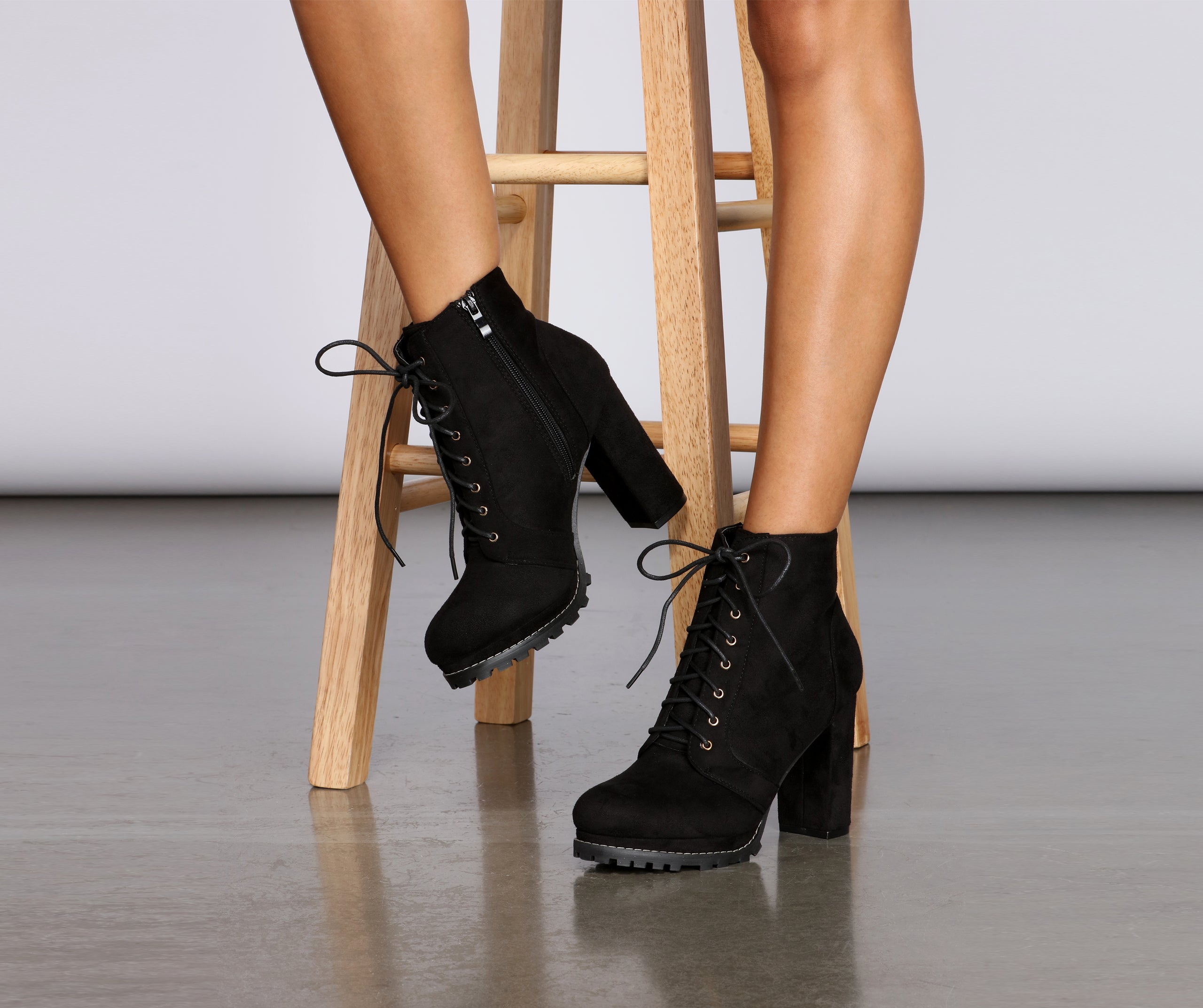 Get To Work Lace-Up Boots – Windsor
