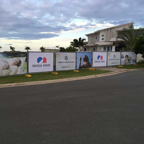Residential Fence Banners