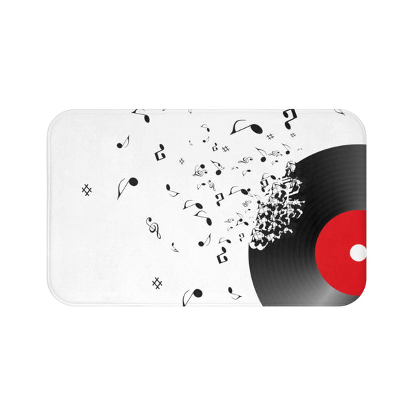 Record Bath Mat (Red)