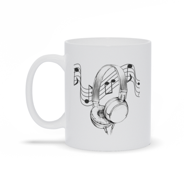 Headphone DJ Mug