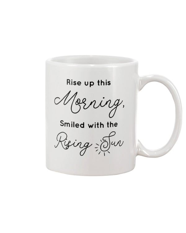 Smiled With The Rising Sun - Bob Marley Mug