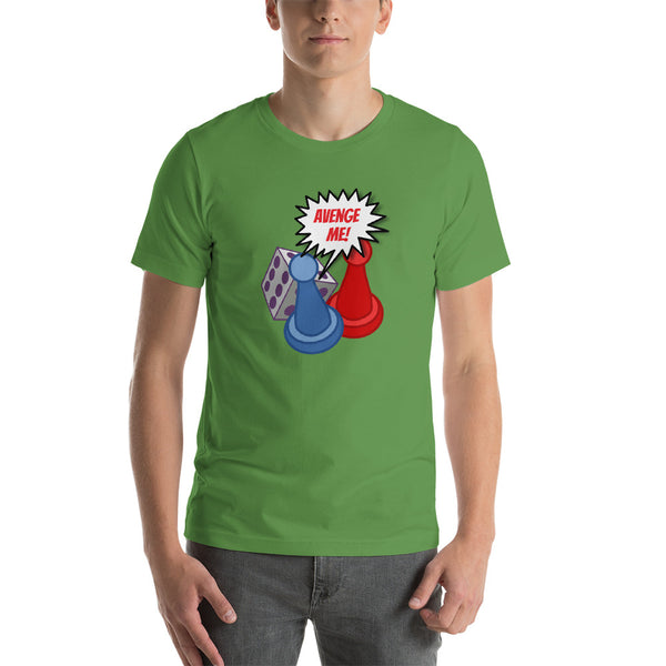 Dice Attack Short-Sleeve Unisex T-Shirt, now in color!