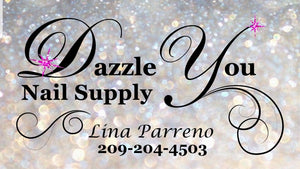 Dazzle You Nail Supply Glitter Logo