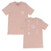 ViewByUs | Travel T-Shirt Peach