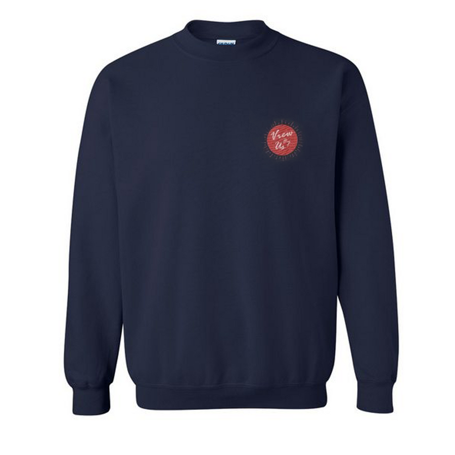 Classic - Navy/Red Sweatshirt